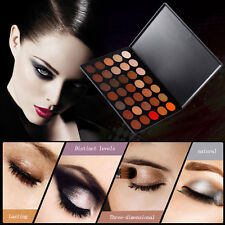 35 Color Eyeshadow Palette Smoky Nude Makeup Gloss Matte Shimmer Eyeshadow AM