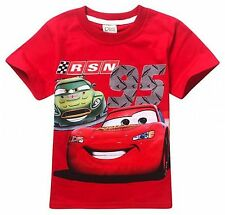 EX-STORES BOYS CHARACTER COTTON CREW NECK  SHORT SLEEVE T.SHIRT TOPS,3 5 7 8YRS