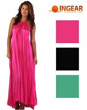 Ingear Womens Sweater Knit Halter Tent Long Maxi Dress Cover Up
