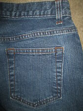 GAP Low Rise Flare Stretch Medium Blue Denim Jeans Womens Size 2 x 30