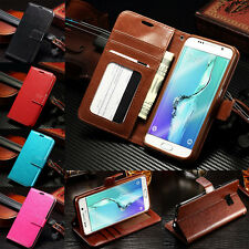 Luxury Flip Cover Stand Wallet Leather Case For Samsung Gala