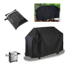 Black Barbeque Grill Waterproof BBQ Cover Outdoor Rain Barbecue Grill Protector