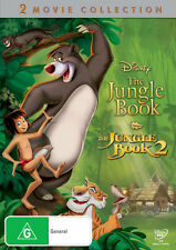 THE JUNGLE BOOK AND THE JUNGLE BOOK 2 (1967) NEW DVD