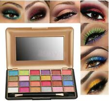 24Color Matte Shimmer Eyeshadow Eye Shadow Palette Makeup Cosmetic Brush Set