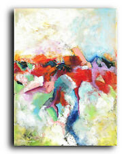 Lg.Canvas & Fine Art Prints Abstract #132 Contemporary Painting Modern Colorful
