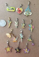 Tinkerbell Disney Charmed in the Park Clip Lobster claw Enamel Charms