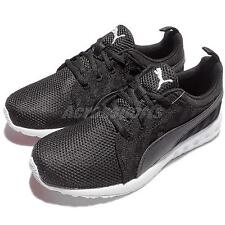 Puma Carson Cross Hatch Wns Black White Womens Running Shoes 189813-01