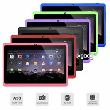 7 inch Android 4.4 A33 Quad Core Tablet PC 8GB WIFI Bluetooth HD Touch Screen UK
