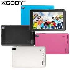 "9"" inch Android 4.4 KitKat Quad Core 8GB Bluetooth WIFI Tablet PC Milti Color UK"