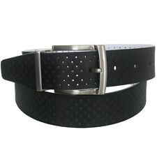 Nike Golf Men's Perforated Strap Reversible Leather Belt,  Brand NEW