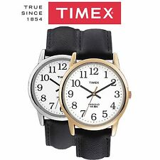 Timex Mens Easy Reader Indiglo Classic Analogue Gents Wrist Watch New