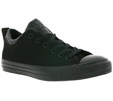 NEW Converse All Star Chuck Taylor CT Dual Collar Shoes Trainers Black 150467C