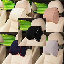 Universal Car Seat Memory Foam Pillow Head Neck Care Rest Cushion 5 Color lot LY