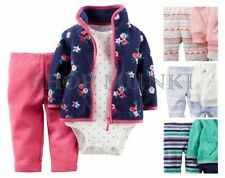 Carters Baby Girl's 3 Piece Matching Winter Outfit Set- Jacket, Bodysuit, Pants