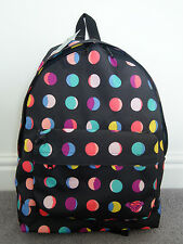 BRAND NEW WITH TAGS ROXY QUIKSILVER  BACKPACK/SCHOOL BAG ARJBP000000 spotty