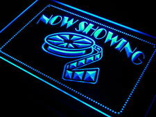Now Showing Filming Film Movies LED Neon Light Sign