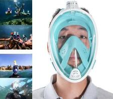 Full Face Scuba Diving Mask Snorkel Swimming Goggles Breathing Underwater Tools*