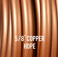 """Copper 5/8"""" HDPE Dance & Exercise Hula Hoop COLLAPSIBLE FITNESS arm hoops"""