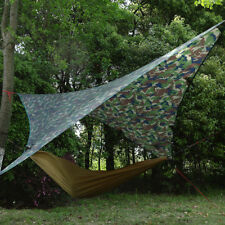 Portable Waterproof Tent Sunshade Camping Tarp Hammock Shelter Mat Cover