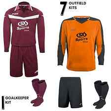 JOMA MUNDIAL CHEAP ADULT FOOTBALL KIT - 7x OUTFIELD 1x GK MENS BUNDLE