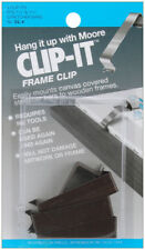 Clip-It Frame Clips 4/Pkg-Fits 1.5