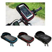 Bike Phone Holder Mount Cycling Handlebar Phone Pouch Rotating Phone Mount