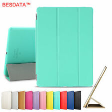 AU New Smart Magnetic Leather Stand Back Case Cover for iPad 2 3 4 Air Mini Pro