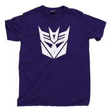 Transformers Decepticons T Shirt 80s Megatron Starscream Cartoon Toys Movie Tee