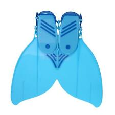 1 Piece Swimming Fins Diving Foot Mermaid Flippers Mono Fin Training