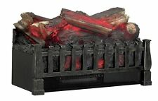 Electric Fireplace Logs Heater Portable Safe