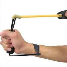 Powerful Folding Wrist Slingshot High Velocity Brace Hunting Catapult Sling Shot