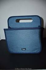 Thirty One Double Duty Caddy in Sailor Stripe NWT