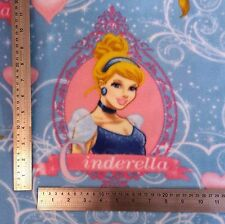 DISNEY PRINCESS NEW Fleece by meter NEW Anti Pill Fabric Material Patchwork MT
