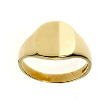 Gold Signet Ring Men's Cushion Signet Ring Gents Ring Jewellery Quarter B'ham