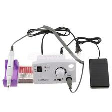 Pro 30000 RPM Manicure Tool Electric Nail Art Drill File Acryli Bits Machine Kit