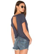 Fashion Women's Casual Tops Backless Hollow Out T-shirts Blouse Short Sleeve New