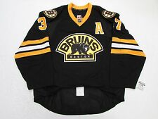 BERGERON BOSTON BRUINS AUTHENTIC THIRD TEAM ISSUED REEBOK EDGE 2.0 7287 JERSEY