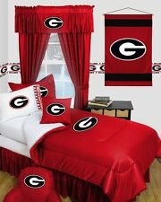 Georgia Bulldogs UGA Dorm Bedding Comforter Set