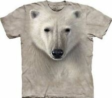 Polar Warrior Face Adult T-Shirt by The Mountain - 10-3215
