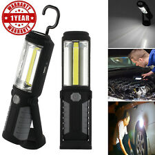 COB LED Work Light Torch Li-Ion Rechargeable Cordless Inspection Lamp Mag