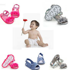 Summer Princess 0-18M Baby Infant Kid Soft Sole Crib Toddler Sandals Shoes