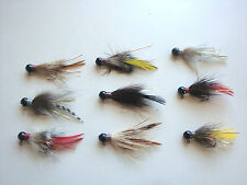 4 HANDTIED SPECIALTY HAIR FISHING JIGS 1/16 1/8 1/4oz Trout,crappie,bass,walleye