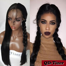Synthetic Lace Front Wigs Long Black Hair Wigs Baby Hair Straight Synthetic Wigs