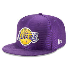 Los Angeles LA Lakers New Era 2017 NBA Draft On Court 59FIFTY FITTED Hat Cap NBA