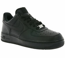 NIKE AIR Force 1 ' 07 WMNS Shoes Women's Real leather Sneaker Black 315115 038