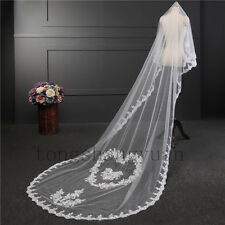Wedding Veils Applique 1 T Cathedral For Bridal Shower Tiara Veil In Stock 2017