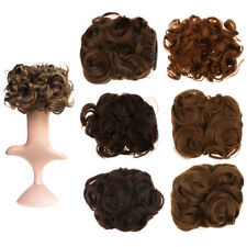 6 Colors Synthetic Fiber Hairpiece Magic Hair Bun Clip in Wig Extension