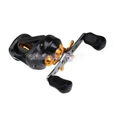 Black 9+1BB 6.3:1 Right/Left-Handed Baitcasting Fishing Reel Saltwater Reels