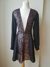 NANETTE LEPORE NYC Dress Deep Cleavage size 2 Stunning NWT Free Shipping