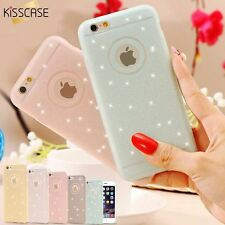 5S SE Fresh Lovely Silicon Case Bling Powder Matte Cover For Apple iPhone 5 5S S